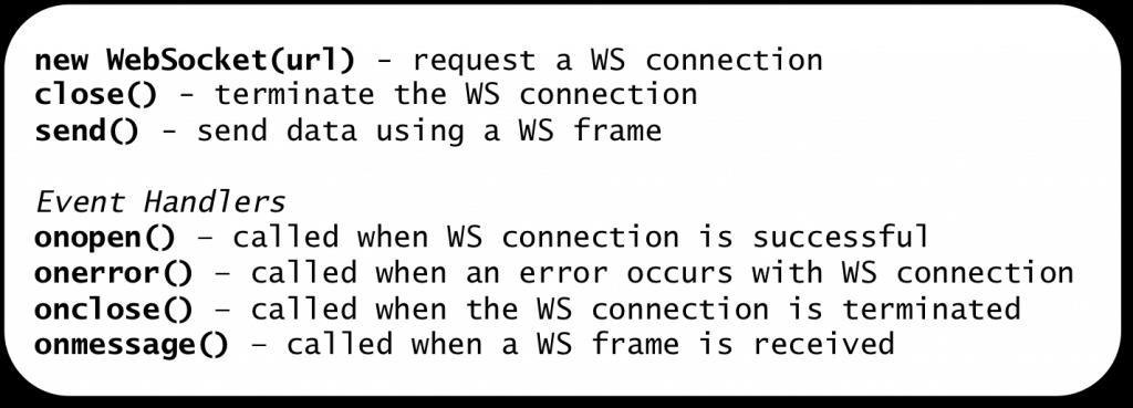 Kaazing | Stop Using the WebSocket API | Kaazing